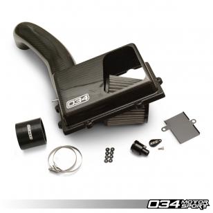 034 X34 Carbon MQB OPEN-TOP Ansaugung, 8V AUDI A3/S3/TT/TTS, MKVII VW GOLF/GTI/R & MKVII VW GLI, 1.8T/2.0T GEN 3
