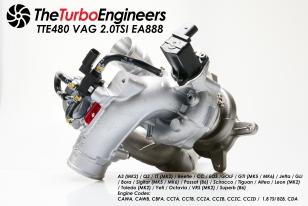 TTE480+ Upgrade Turbolader für VAG 2.0 TSi EA888
