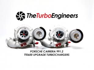 TTE600+ Upgrade Turbolader für Porsche 991 Carrera 3.0T